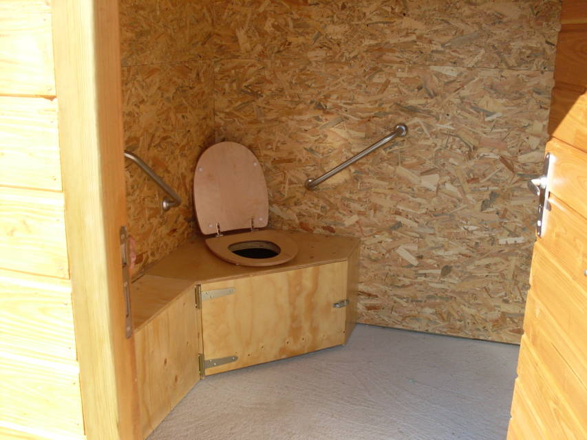 Toilette sèche PMR