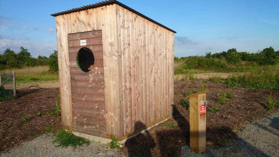 Toilette sèche pour commune